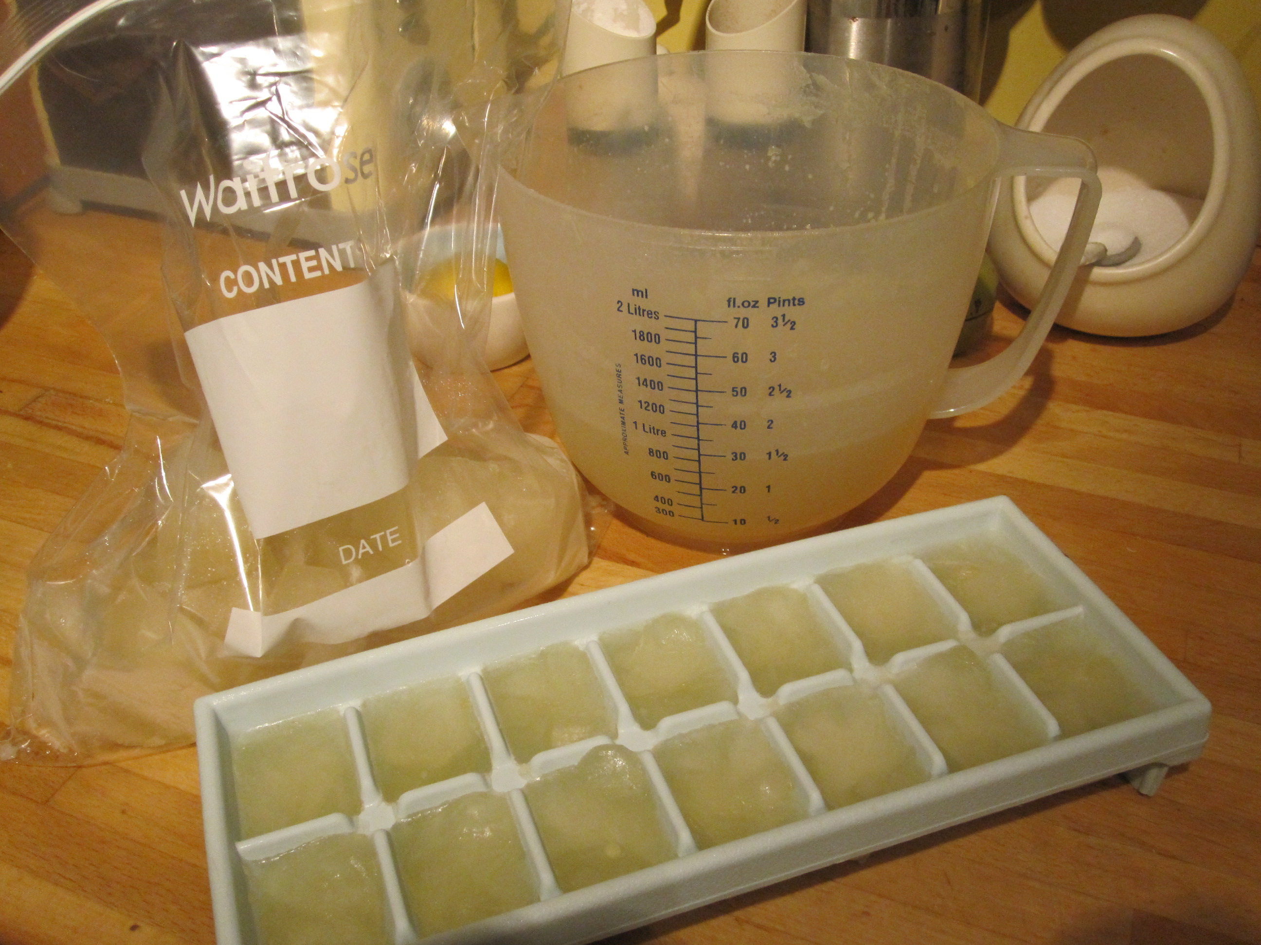 Fancy Making Your Stock Cubes Yourself? Here's A Chicken Stock Cubes Recipe.