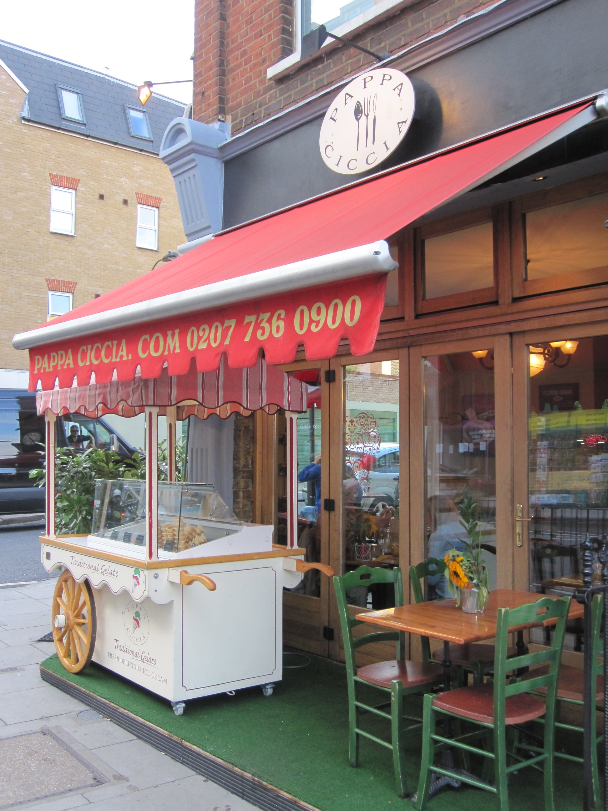 Italian Restaurant Kew High Street