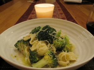 Pasta with Broccoli, Anchovy & Chilli