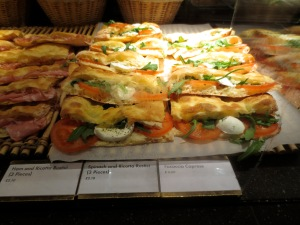 Filled focaccia at Princi