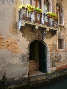 All quiet and peaceful at Hotel Al Ponte Mocenigo