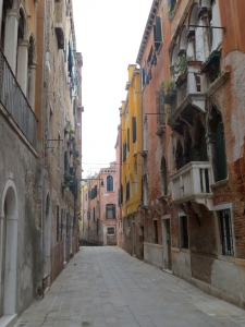 Quiet streets in Santa Croce