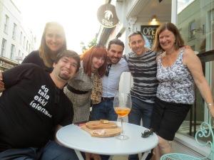 L to R: Ryan, Melina, Amanda, John, Matt, Kay