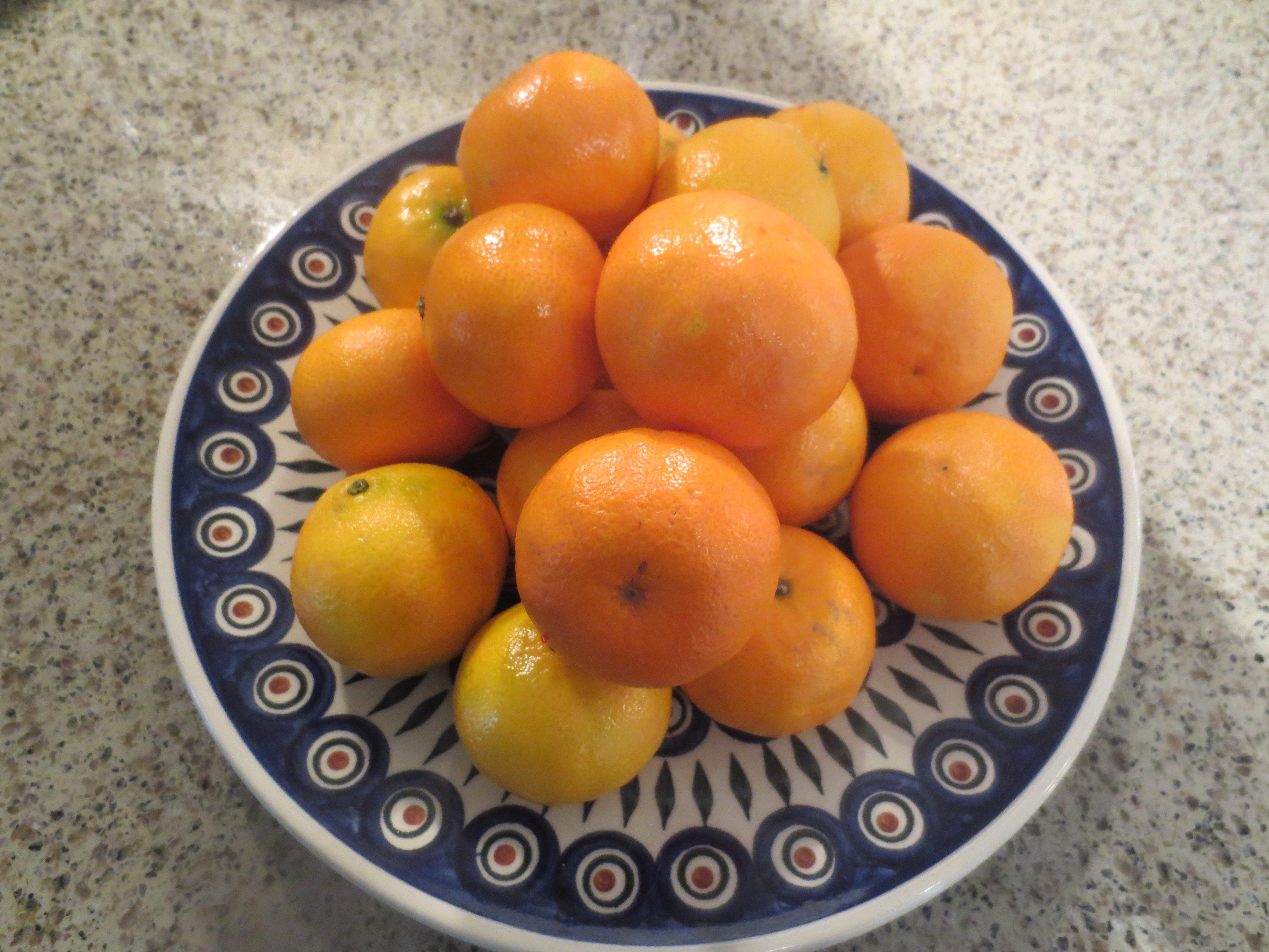 Clementine Sorbet | thesinglegourmetandtraveller