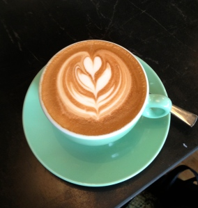 Flat White at Freestate Coffee