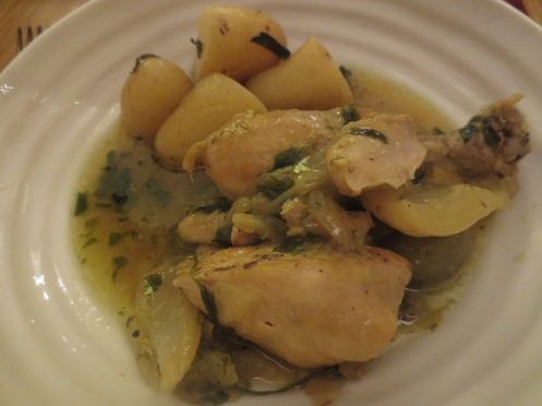 Chicken, Preserved Lemon, Fennel & Olive Tagine