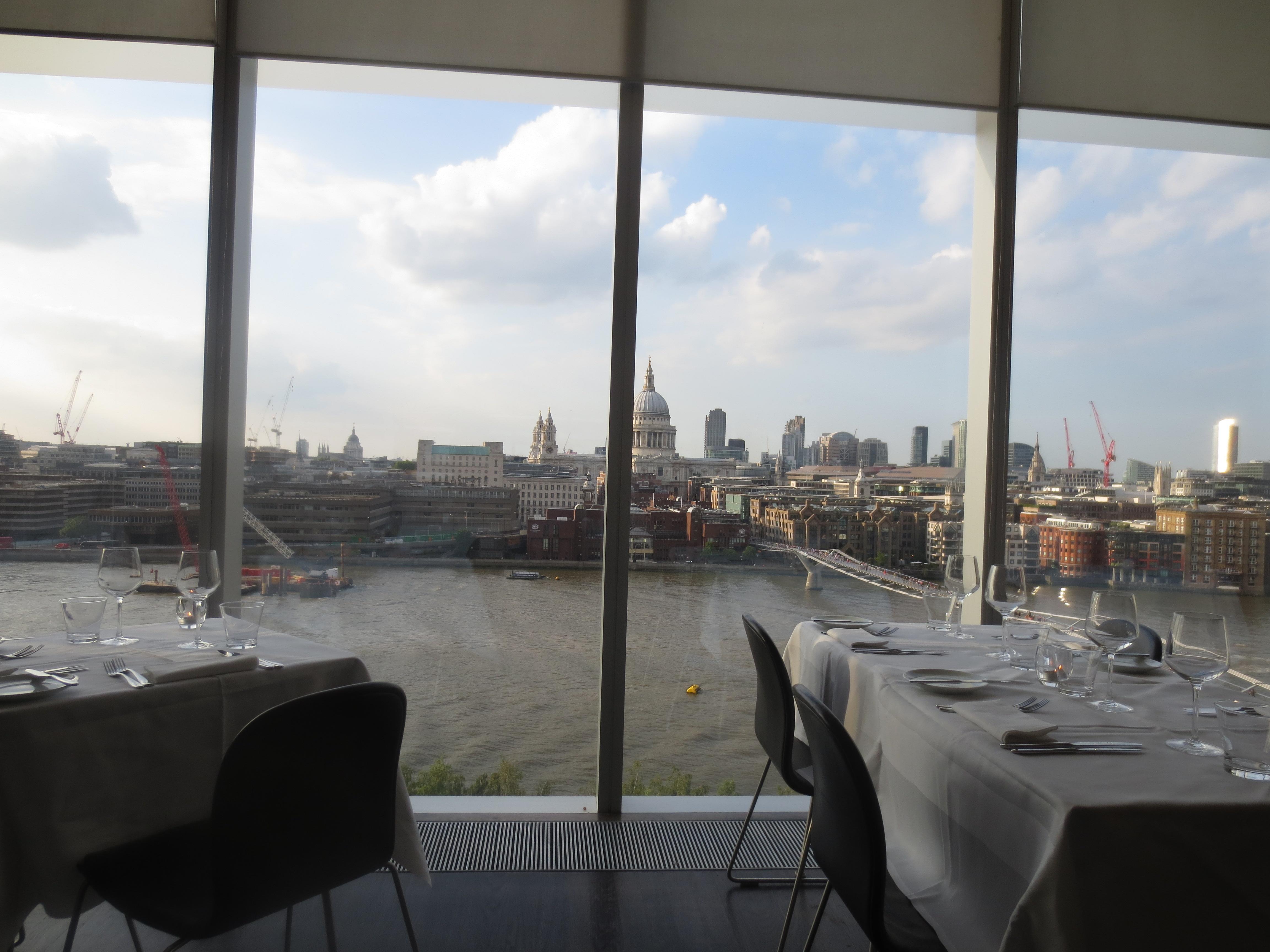 Tate Modern Restaurant Travel Gourmet