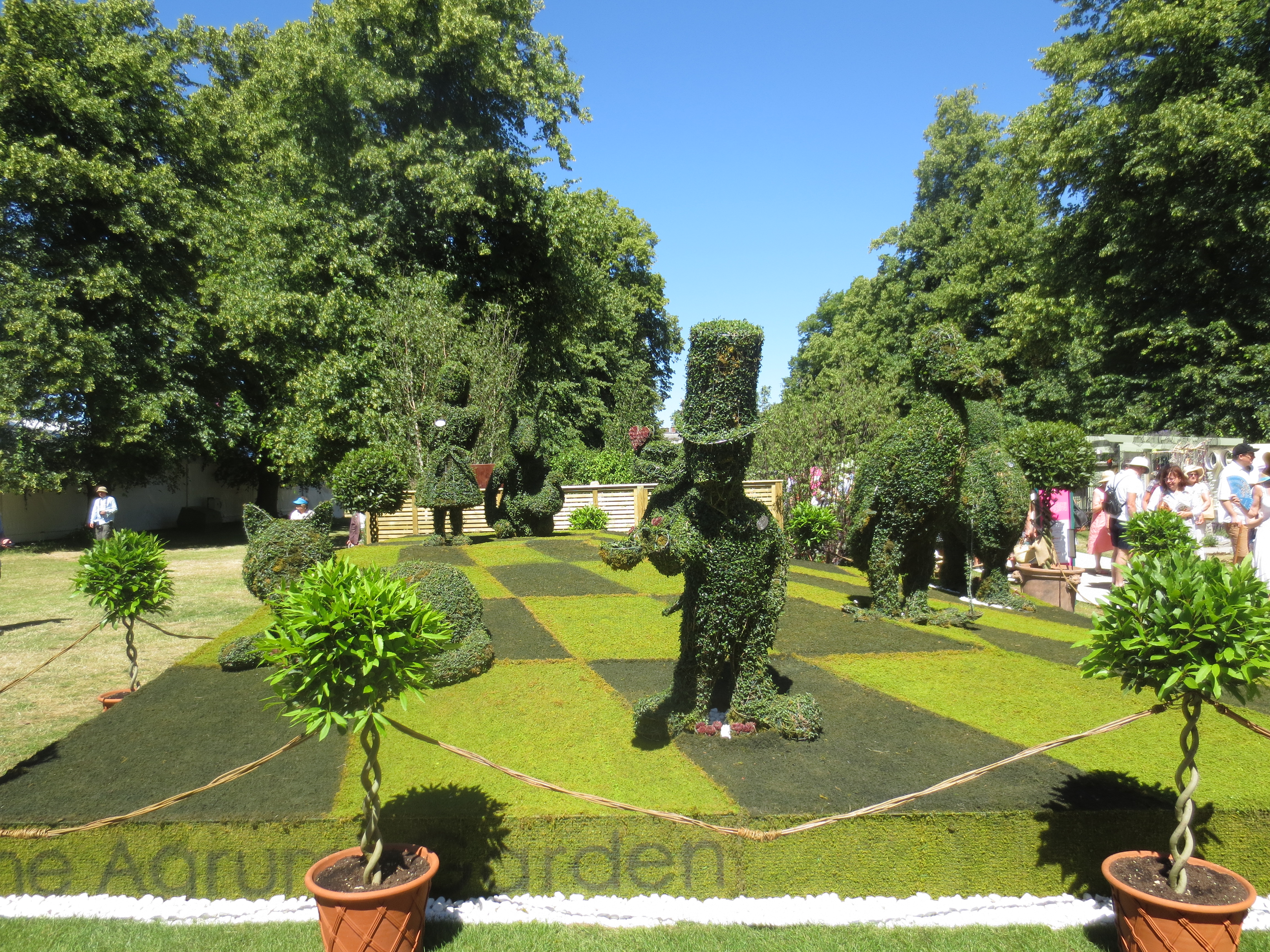 Hampton court palace flower show 2015 travel gourmet - Hampton court flower show ...