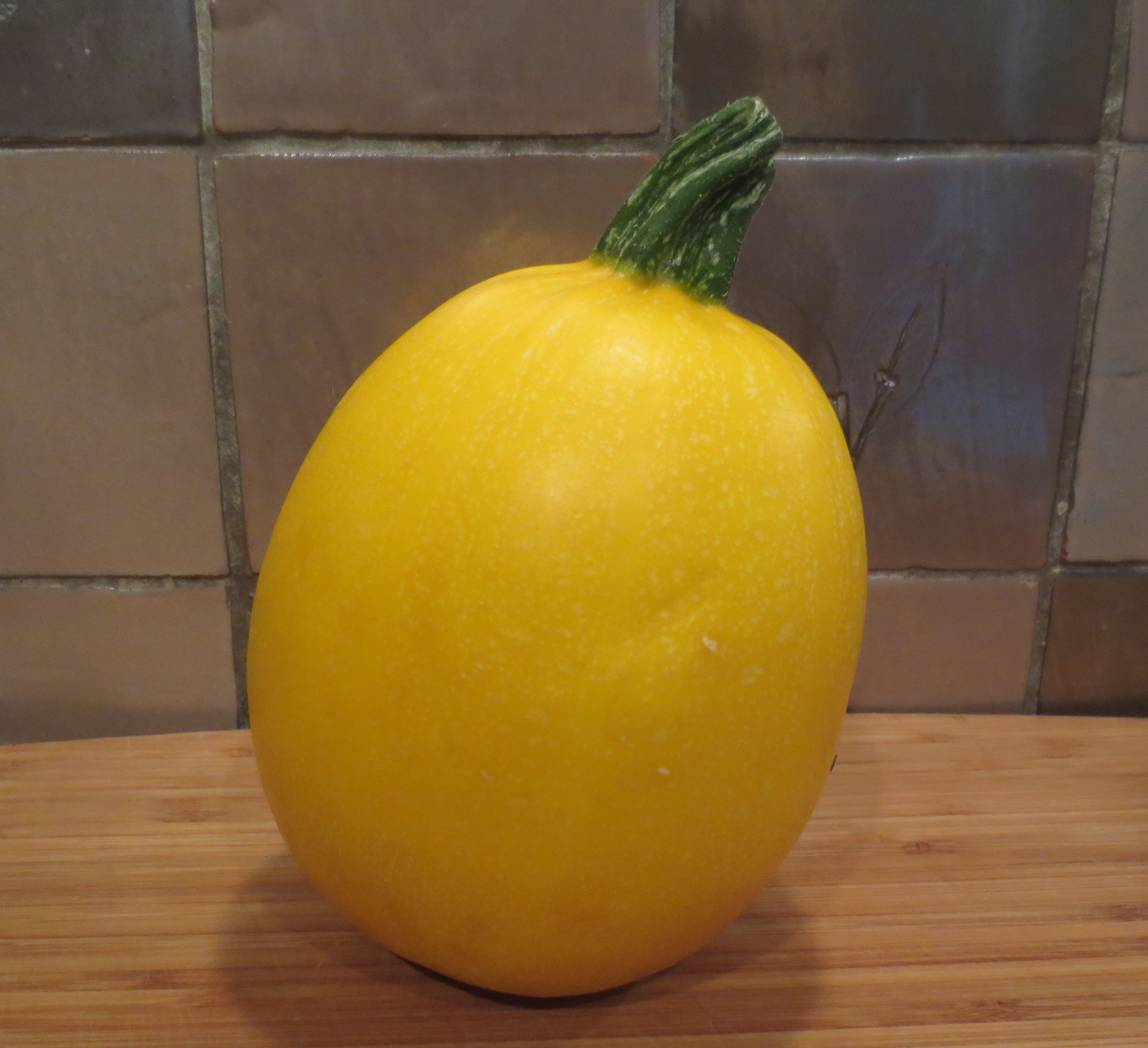 round yellow courgette how to cook