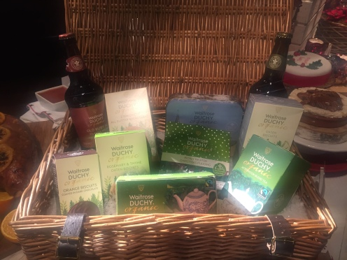 Waitrose christmas press show 2016 travel gourmet and always buy a duchy original organic one from waitrose its become a family favourite there was a whole hamper of duchy original christmas goodies solutioingenieria Image collections