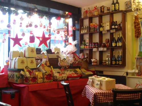 Christmas breads at Corto Italian Deli, Twickenham